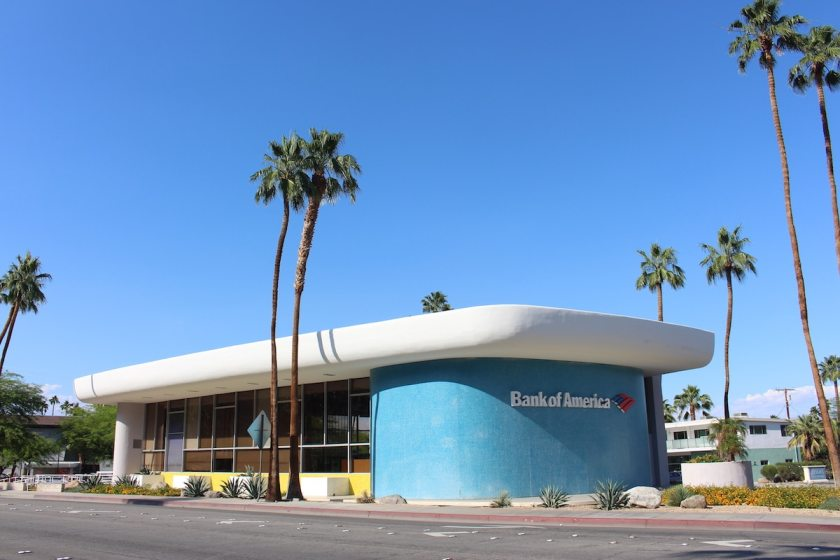 Bank Of America, Palm Springs