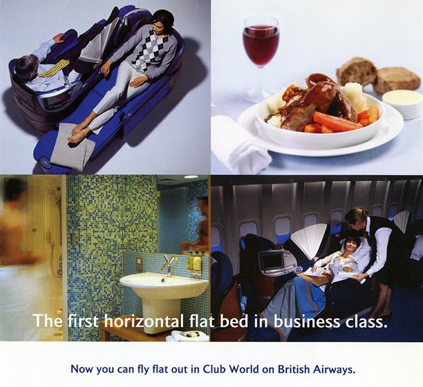 British Airways Club World circa 2000