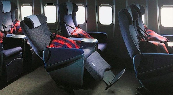 British Airways Club World Cradle Seat