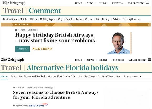 Telegraph Travel