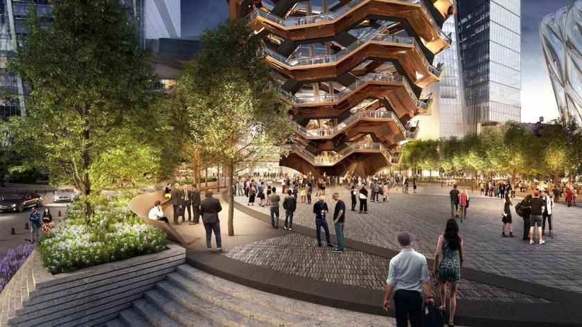 Vessel, Heatherwick Studio, Hudson Yards, New York