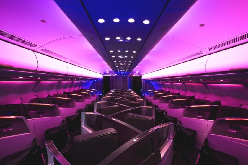 Virgin Atlantic Upper Class Suite Airbus A330 Aircraft