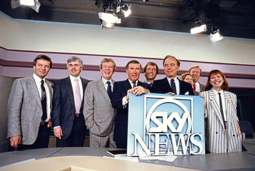 Sky News Launch 1989