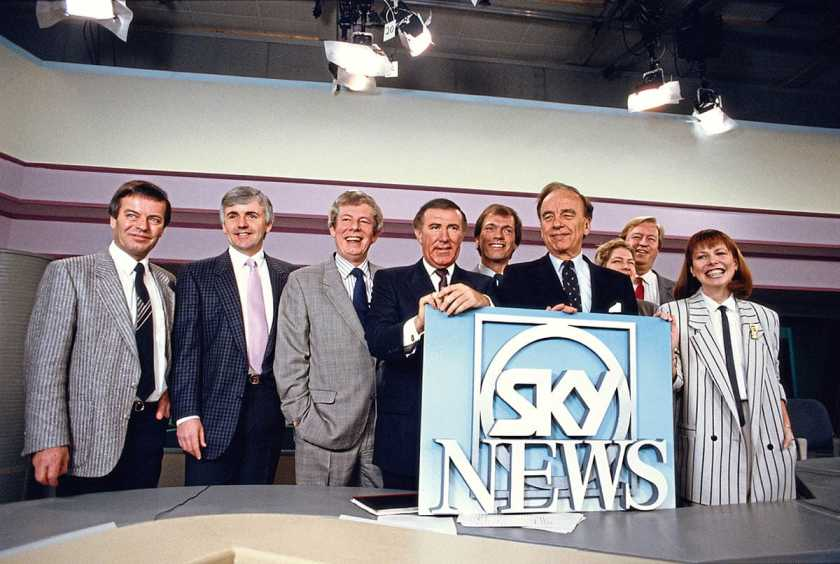Sky News Launch 1989