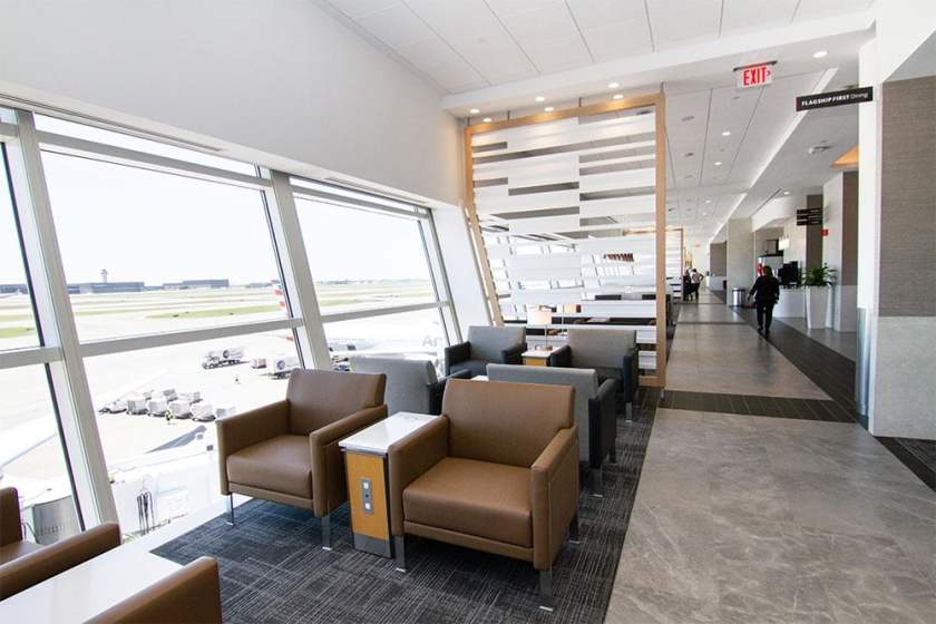 American Airlines Flagship Lounge, Terminal D, Dallas Fort Worth