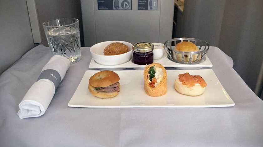 British Airways Club World Afternoon Tea London Heathrow - Miami
