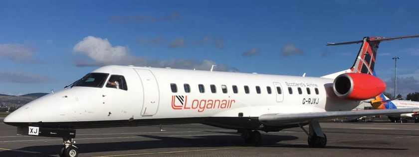 Loganair Embraer 135 Aircraft