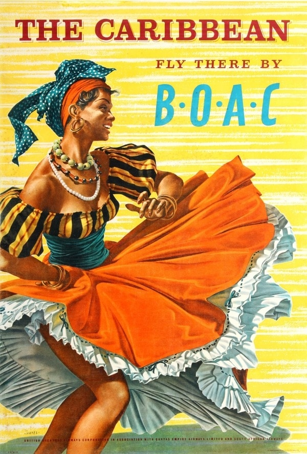 BOAC Caribbean Poster