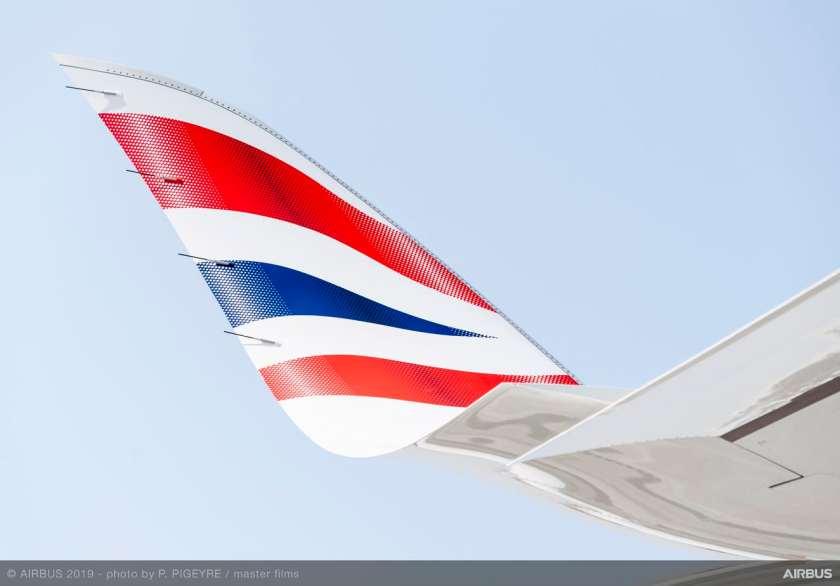 British Airways Airbus A350-1000 Aircraft