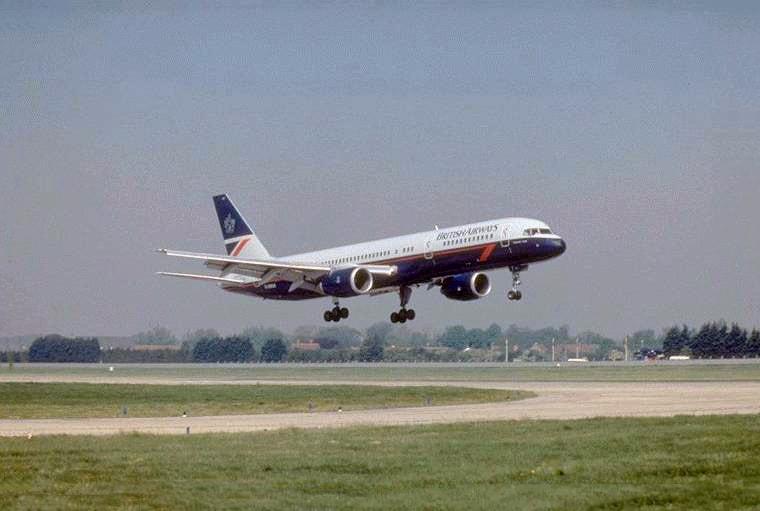 British Airways Boeing 757, Landor Livery