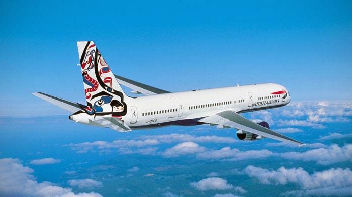 """British Airways Boeing 757 """"Whale Rider"""" Project Utopia Tailfin"""