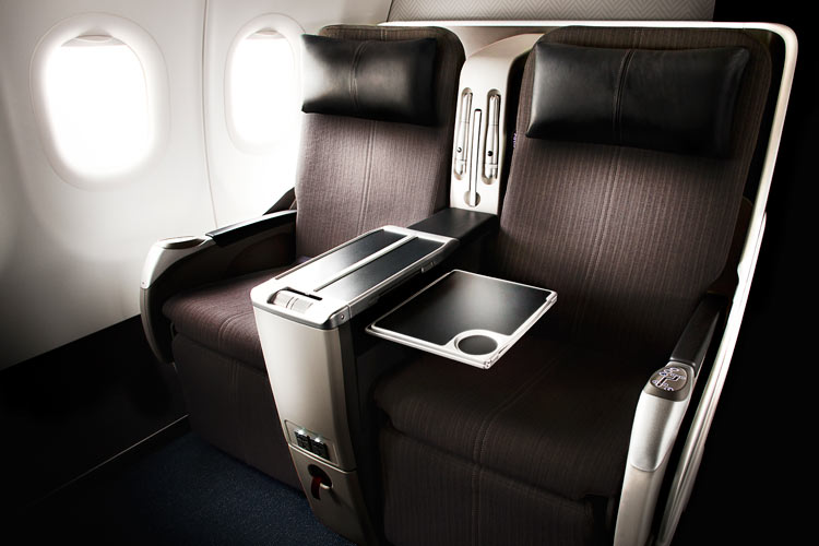 BA Club World Cabin, Airbus A318 aircraft