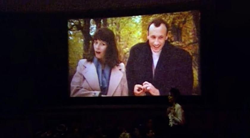 "British Airways ""Surprise, Suprise"" Cinema Stunt, 1991"