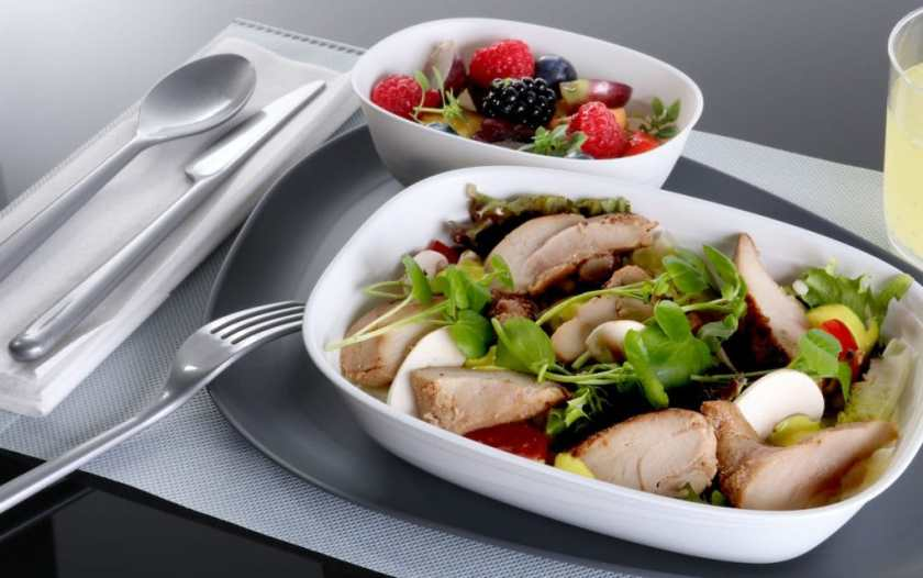 Delta Long-Haul Economy Catering