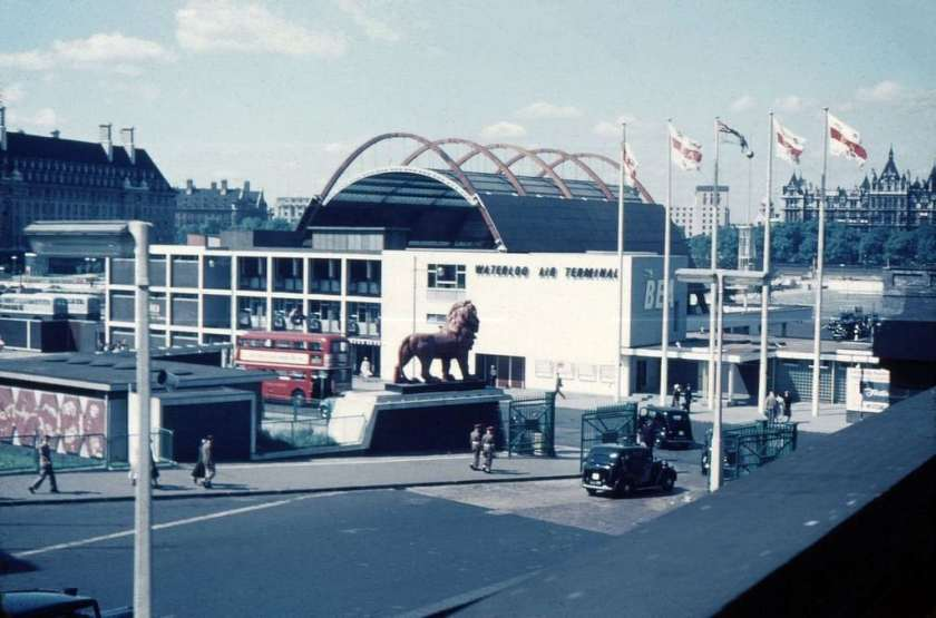 BEA London Waterloo Air Terminal 1953