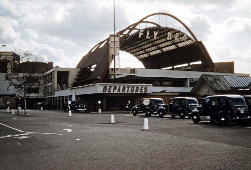 BEA London Waterloo Air Terminal 1956