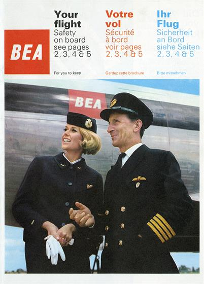BEA Sylvia Ayton Uniform