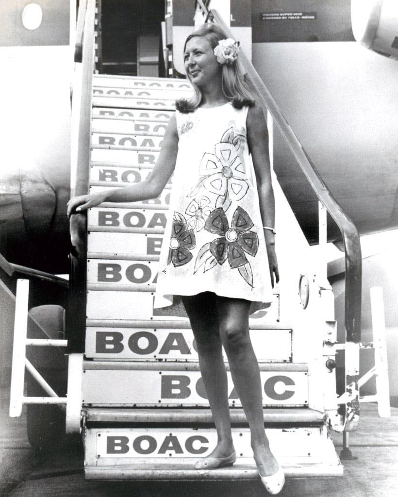 BOAC Paper Dress Uniform, Caribbean
