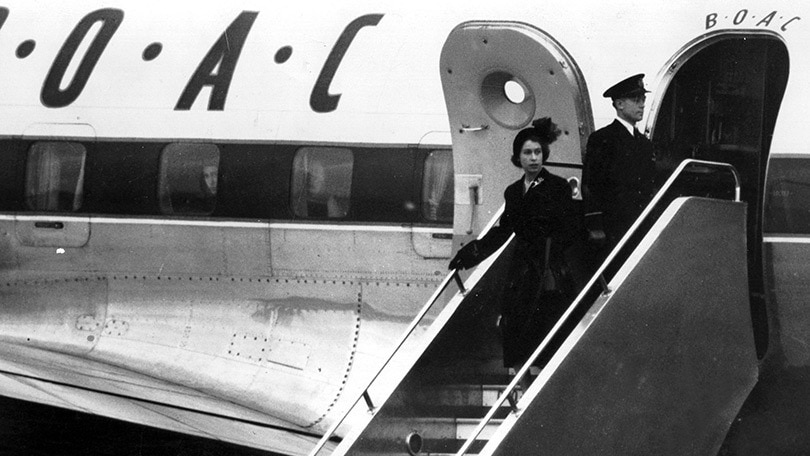 Her Majesty The Queen, BOAC
