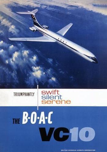 BOAC VC10 Poster
