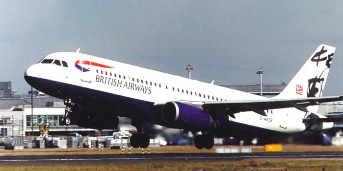 "British Airways Airbus A320 Yip Man-Yam ""Rendezvous"" Project Utopia Livery"