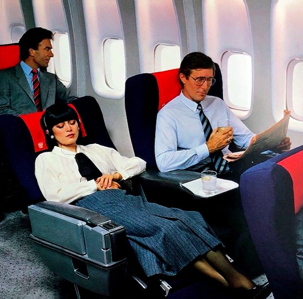 British Airways First Class Sleeper Seat