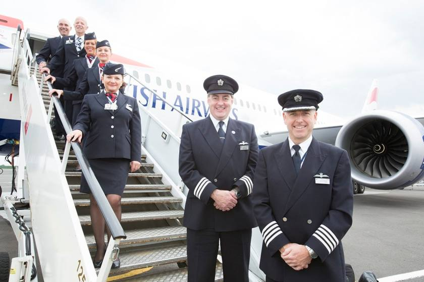 British Airways Pilots & Cabin Crew