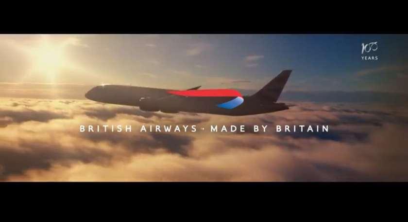 """British Airways """"Made By Britain"""", 2019"""