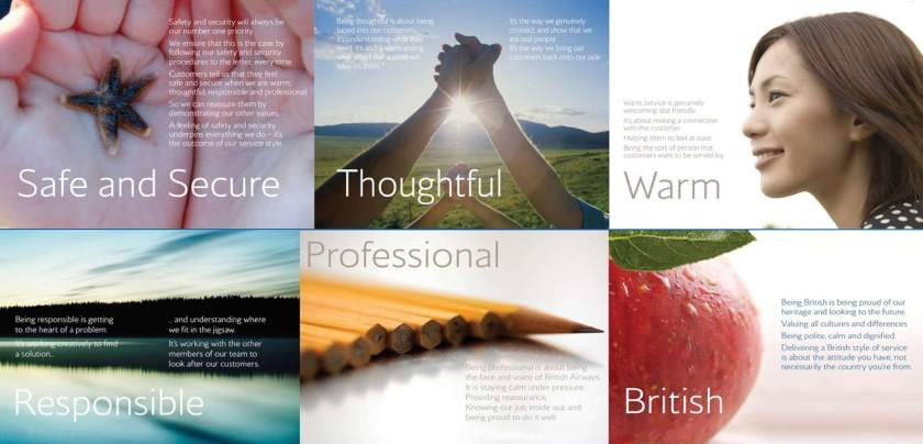 British Airways Service Style Guidelines 2008