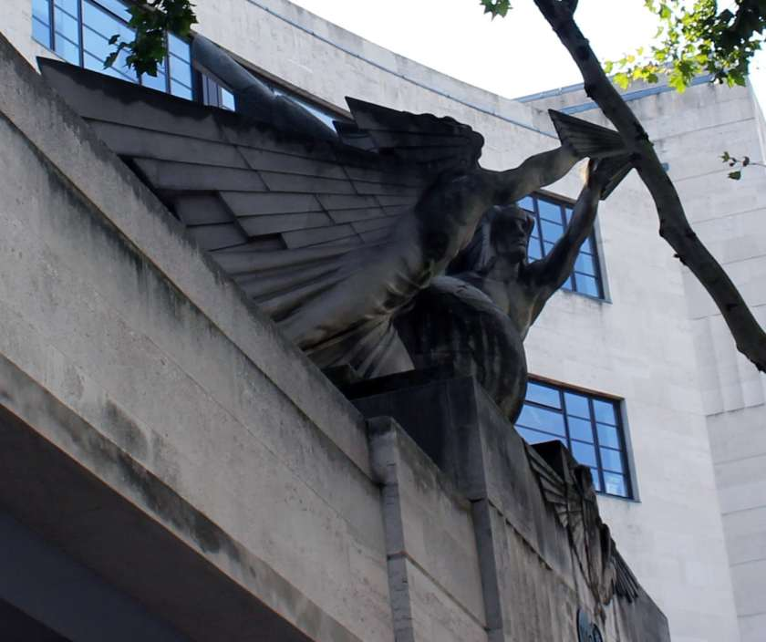 """Wings Above The World"", Imperial Airways Empire Terminal, London"
