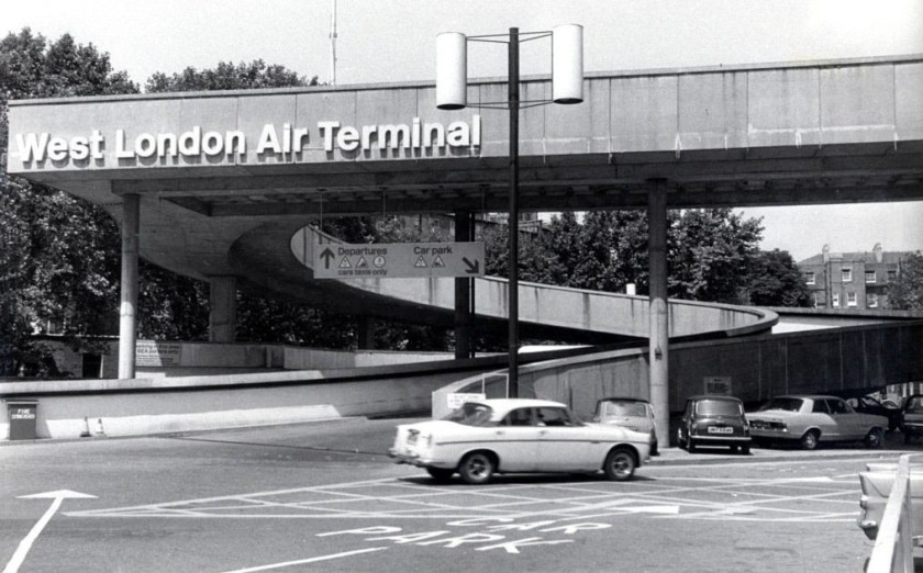 The West London Air Terminal, Cromwell Road