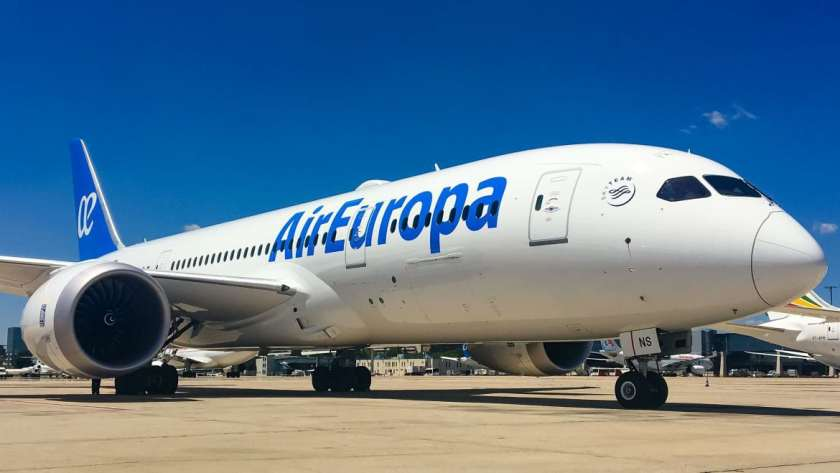 Air Europa Boeing 787 Dreamliner Aircraft