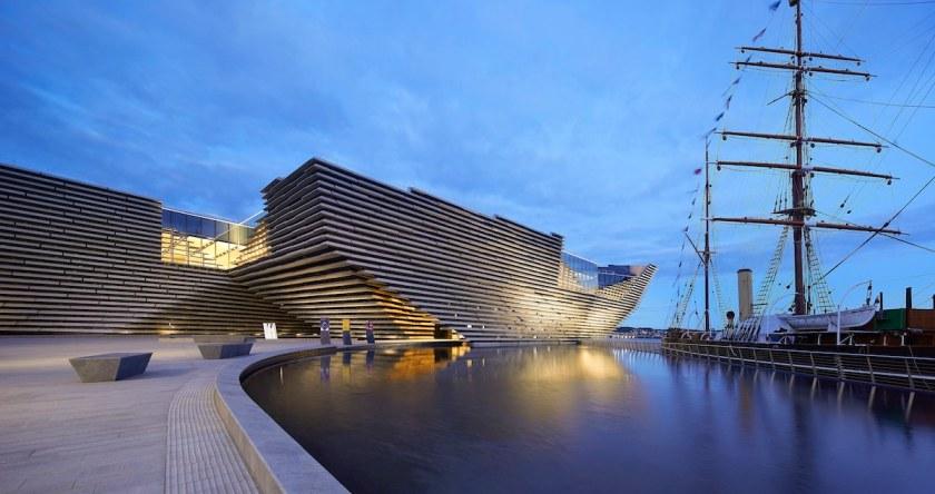 V&A Dundee, Scotland.