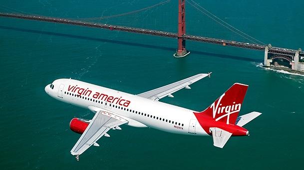 Virgin America Aircraft In-Flight