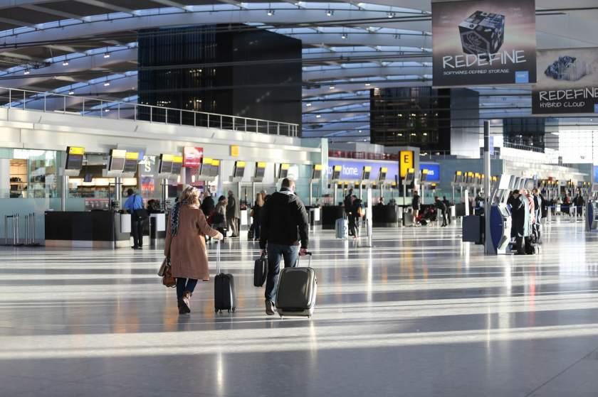 London Heathrow Terminal 5 Check-In Concourse