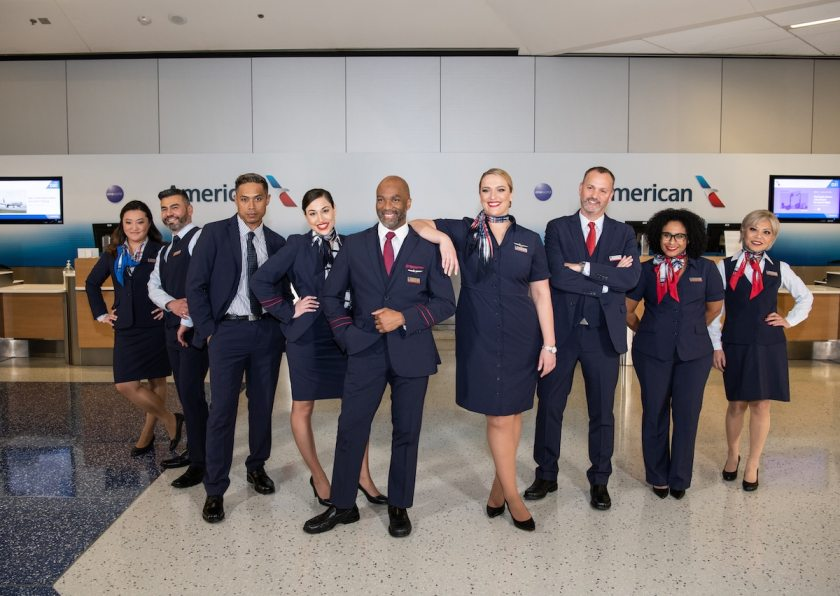 American Airlines New Staff Uniforms