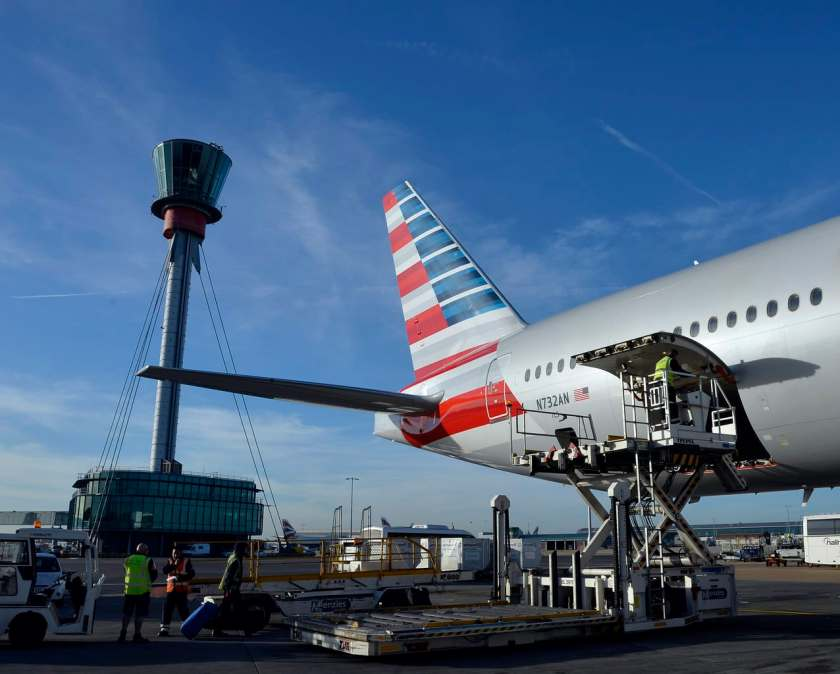 American Airlines Cargo Operations, London Heathrow Airport