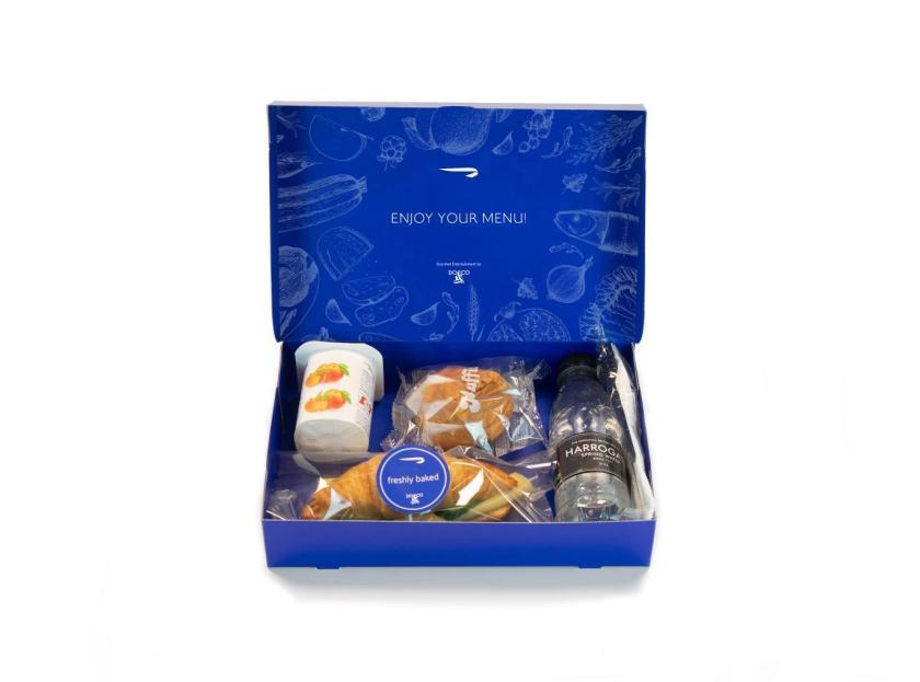 British Airways World Traveller & World Traveller Plus Meal Box, June 2020