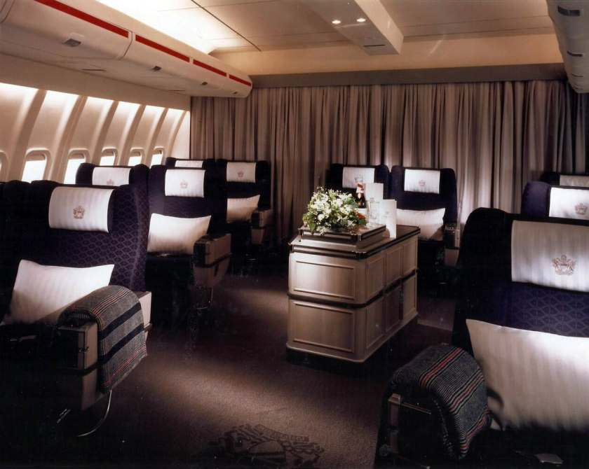 BOAC First Class Cabin, Boeing 747