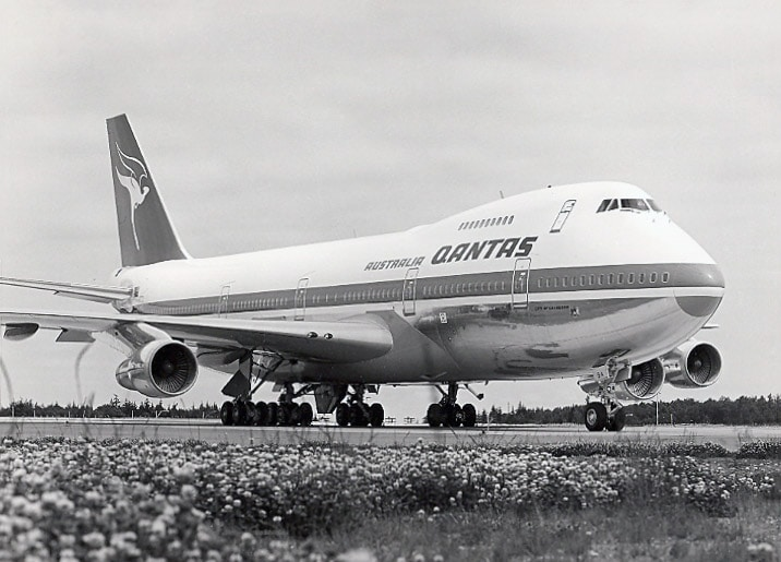 "Qantas Boeing 747-238B ""City Of Canberra"""