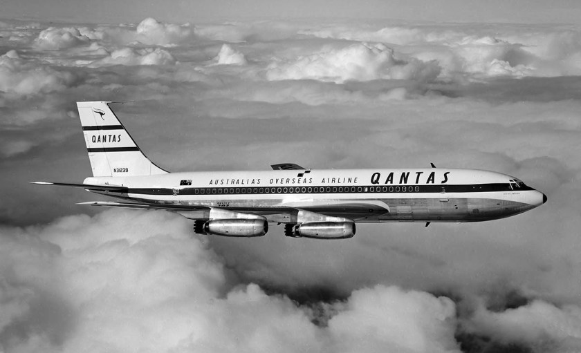 "Qantas Boeing 707-138 ""City Of Canberra"""