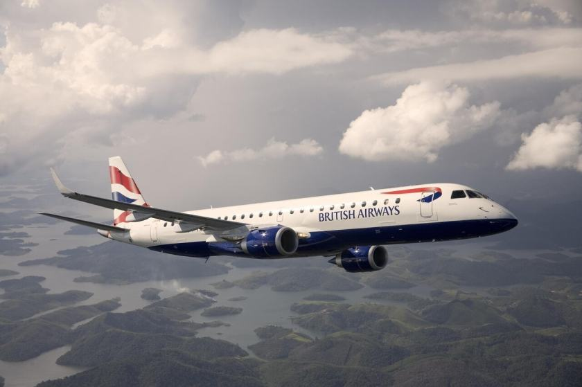 BA CityFlyer Embraer Aircraft