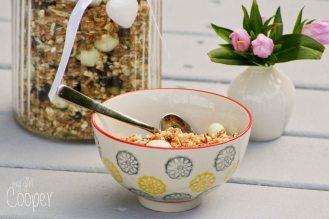 Delicious home made muesli