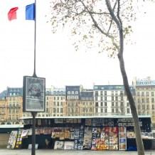 Markets lining the Seine
