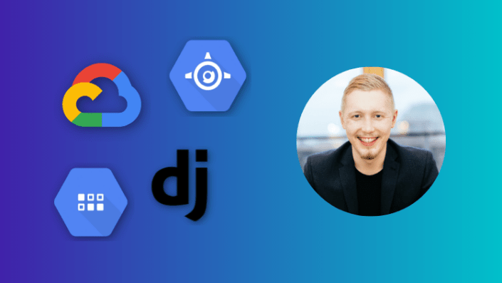 Cover image for our course Deploy a Serverless Django app on Google App Engine