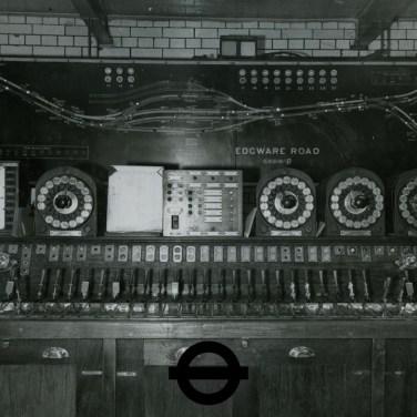 Edgware Road control room