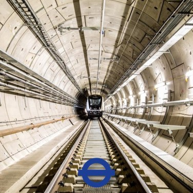 Elizabeth line tunnel