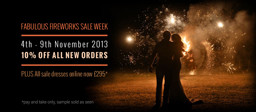 We're Having A Sale! Discount Wedding Dresses Available NOW