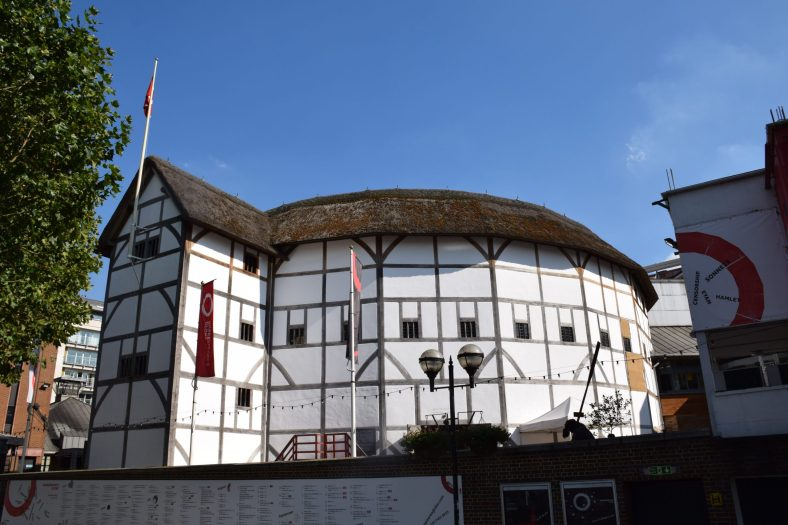 The Globe Theatre on Th River Thames