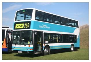 Transdev Keighley & District Volvo B7TL 2701 (Y701 HRN) at Showbus, 16 September 2007